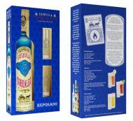 Corralejo Reposado Tequila w/2 Sangrita Glasses