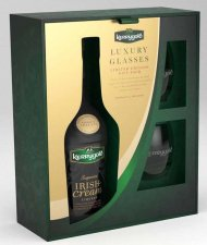 Kerrygold Irish Cream Liqueur w/2 Glasses