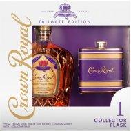 Crown Royal w/Tailgate Kansas City Chiefs Flask