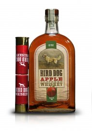Bird Dog Apple w/2 Shot Glasses