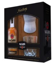 Bacardi 8YR w/Glass & Ice Mold