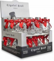 Crystal Head Vodka Mini w/Red Bows