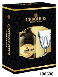 Carolans Irish Cream w/Glass