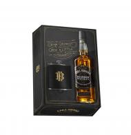 Ezra Brooks Sour Mash Bourbon w/Flask