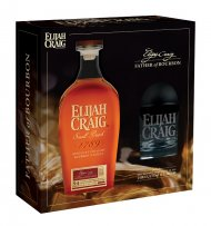 Elijah Craig Small Batch w/Glass & Ice Mold