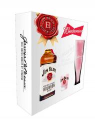 Jim Beam w/Shot & Pilsner Glass