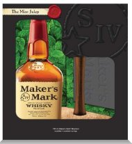 Makers Mark w/Ice Tray & Muddler