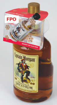 Captain Morgan 1.75L w/CM 100prf 50ml