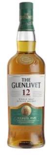 Glenlivet 12YR w/14YR 50ml