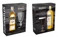 Bushmills Whiskey 750ml w/ Irish Coffee Glass