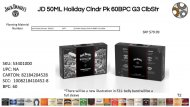 Jack Daniel''s Holiday Calendar Pack