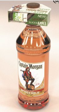 Captain Morgan OSR PET w/50ml CM Sliced Apple