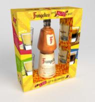 Frangelico Liqueur w/4 Shot Glasses