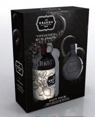 Kraken Spiced Rum w/Flask