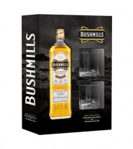 Bushmills Irish Whiskey w/2 Shot Glasses