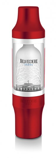 Belvedere Pure Red w/Shaker