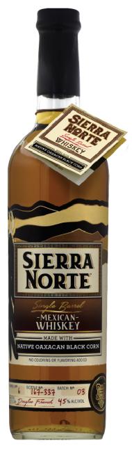 Sierra Norte Whiskey Black Corn