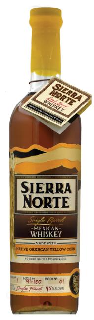 Sierra Norte Whiskey Yellow Corn