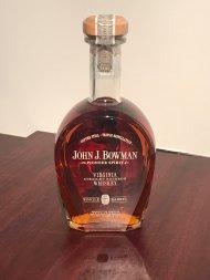 John J Bowman Bourbon