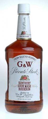 G & W Bourbon