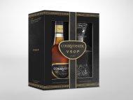 Courvoisier VSOP Cognac w/Decanter