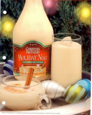 Christian Bros Holiday Nog
