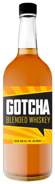 GOTCHA BLENDED WHISKEY 750ML