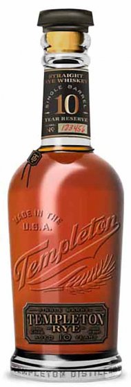 Templeton 10YR Single Barrel Rye