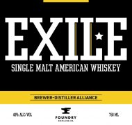 Exile Single Malt American Whiskey