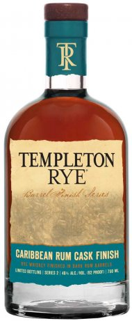 Templeton Caribbean Rum Barrel Finish Rye Whiskey