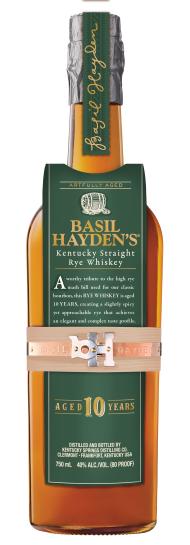 Basil Hayden''s 10 Year Rye