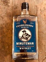Leadslingers Minuteman Whiskey