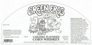 Green Frog Distillery Caramel Flavored Corn Whiskey