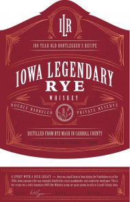Iowa Legendary Rye Private Reserve