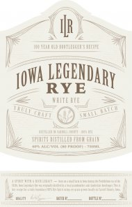 Iowa Legendary Rye Unaged