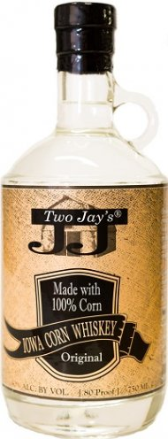Two Jays Iowa Corn Whiskey