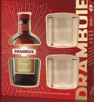 Drambuie Liqueur w/2 Glasses