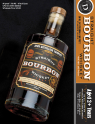 Iowa Distilling Company Straight Bourbon Whiskey