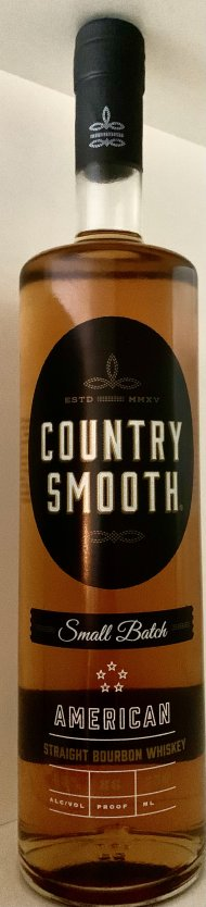 Country Smooth Small Batch Straight Bourbon Whiskey