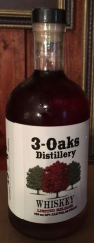 3-Oaks Distillery Whiskey