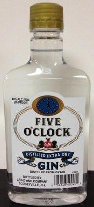 Five O'Clock Gin