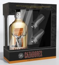Cazadores Reposado with 2 shot glasses