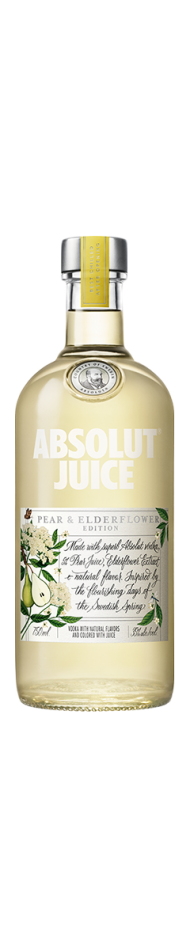 Absolut Juice Pear and Elderflower Edition