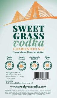 Sweet Grass Vodka