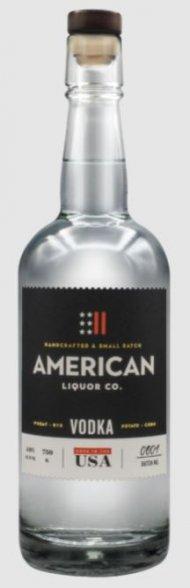 American Liquor Co Vodka