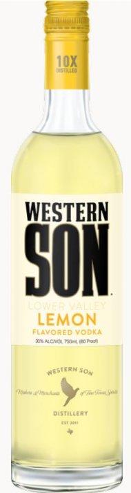 Western Son Lemon Vodka