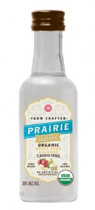 Prairie Organic Apple Pear Ginger FL Vodka Mini