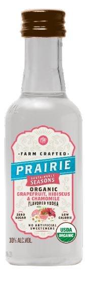 Prairie Organic Grapefruit Hibiscus Chamomile FL Vodka Mini