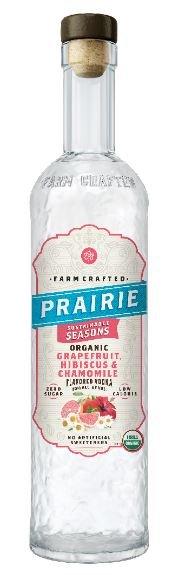Prairie Organic Grapefruit Hibiscus Chamomile FL Vodka