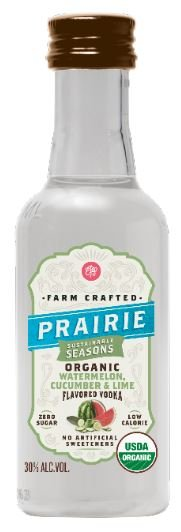 Prairie Organic Watermelon Cucumber Lime FL Vodka Mini